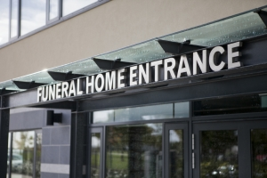Funeral Home Entrance
